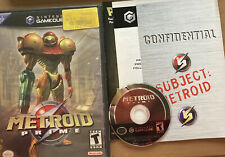 Metroid Prime (Nintendo GameCube, 2004) Authentic NO MANUAL