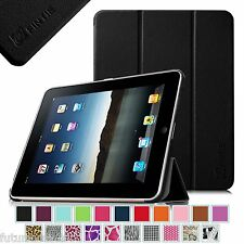 Slimshell Lightweight PU Leather Stand Case Cover For Apple iPad 1 1st Gen
