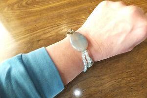 Crystal & Gemstone Stretch Bracelet, Artist Siera Stone