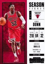 Kris Dunn 2017-18 PANINI CONTENDERS Basketball cartes à collectionner, #98