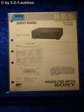 Sony Service Manual TA DS70 Amplifier  (#3062)