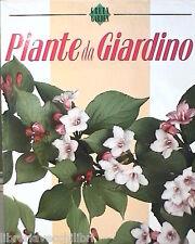 PIANTE DA GIARDINO Remo Trucchi Stock Libri 1989 Flora Agricoltura Giardinaggio