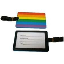 Gay Pride Rainbow Luggage Name Tag