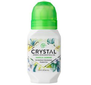 Crystal Mineral Roll On Deodorant - Vanilla Jasmine 66ml