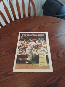 MAY 16,1970-THE SPORTING NEWS-TONY PEREZ OF THE CINCINNATI REDS(MINT)