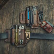EDC Tactical Tool Holster Field Survival Portable Pocket Flashlight Sleeve