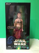 Star Wars Prisoner Princess Leia with chain The Power of the Force Doll