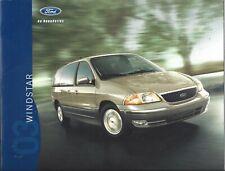 Original/Official 2003 Ford Windstar Sales Brochure 03 Catalog News
