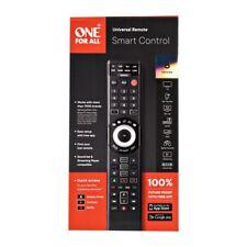 One For All URC7880 Smart Control 8-device Universal Remote Black GA