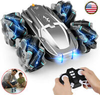 2.4 GHz 4 WD RC Cars for Kids Boys 360° Spins Stunt High Speed Off-road Truck