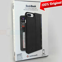 Twelve South BookBook Wallet ID Folio Black Leather 3in1 Case for iPhone 6 Plus