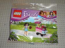 LEGO FRIENDS Polybag Cupcake Stall Set 30396 avec 1 minifig EMMA / Neuf scellé