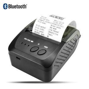 Thermal Receipt Printer New Bluetooth USB Android IOS Windows App POS Portable