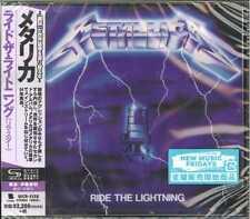 METALLICA-RIDE THE LIGHTNING (2016 Remastered)-JAPAN SHM-CD E78