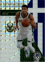 2019-20 Panini Mosaic International Men Mastery Mosaic #17 Giannis Antetokounmpo