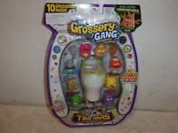 The Grossery Gang Time Wars 10 Pack with 2 Flush 'N Fizz Grosseries - NEW