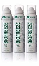 3 BIOFREEZE PROFESSIONAL 360 degree 4 oz Spray Pain Relief NO MESS, FREESHIPPING