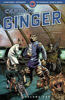 Captain Ginger Volume One GN Stuart Moore June Brigman Furry Cat New NM
