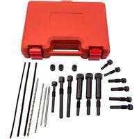 22PCS Extractor de calentadores Glow Plug Electrodes Removal Tool Kit M8 & M10