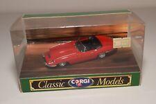 ^^^ 1:43 CORGI TOYS 96080 JAGUAR E TYPE OPEN TOP RED MINT BOXED