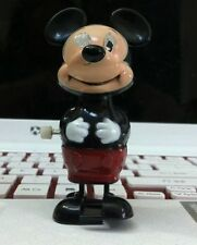 VINTAGE 1977 DISNEY MICKEY MOUSE WIND UP TOY STILL WORKS