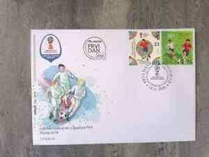 SERBIA FDC -  2018 Fifa World Cup Russia First Day Cover
