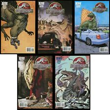Jurassic Park IDW Comic Set 1-2-3-4-5 Cover B Frank Miller Bernie Wrightson art