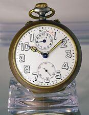 ZENITH Pocket Watch Alarm, Taschenuhr mit Wecker (Gandhi Uhr)