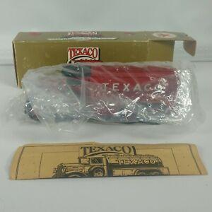 Vintage Ertl Texaco 1930 Diamond Fuel Tanker LE Diecast Truck Coin Bank W Key