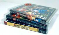 Lego Sony PlayStation 3 PS3 lot - Harry Potter, Star Wars, Pirates Caribbean