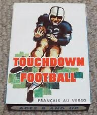 Touchdown Football - Vintage 1962 Boxed American Football Card Game