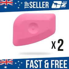 2 x Car Wrapping Vinyl Removal Squeegee Scraper Tool Wrap Remover Plastic Edge