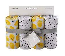 Rosie Pope Baby 4-Pack Swaddle Blanket - Lemons