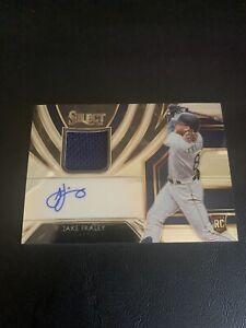 2020 Select Baseball JAKE FRALEY Rookie Autograph/Jersey #RJA-JF 193/209