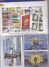 Aland  on paper  modern mix of stamps with Framas and 3 S.S.