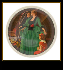 "1984 ""Grandma'S Courting Dress"" Plate By Norman Rockwell From Knowles China Co."