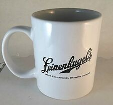 Leinenkugel's Jacob Leinenkugel Brewing Co Coffee Drink Mug White and Black