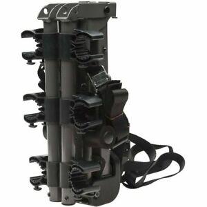 Bell Sports Overpass 300 3-Bike Compact Folding Trunk Rack, Black
