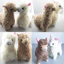 2x Cute Kids Alpaca Plush Toy 23Cm Height Camel Cream Llama Stuffed Animal Doll