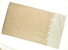 King Pillow Sham NEW Beige White Stripe Olive Green Domestications