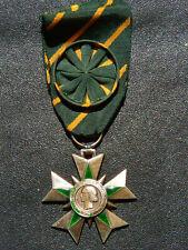 T4Ju) Médaille MILITAIRE croix du mérite combattant french officier MEDAL