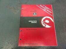 John Deere 555 Offset Disk Operators Manual Om A47556 Issue H3