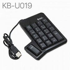 Connectland 19-Key USB Numeric Keypad with Space Bar  Button, CL-USB-NUMSPC