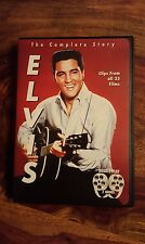 The complete story Elvis - clips from all 33 films (1996 dvd)region 1