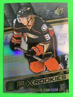 2014-15 Upper Deck SPX Rookies #107 William Karlsson Anaheim Ducks RC Vegas