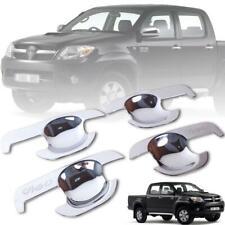 Fit 04-15 Toyota Hilux SR5 Ute Vigo Mk6 Pickup 4 Door Handle Insert Chrome Cover