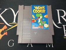 Yoshi's Cookie - Nintendo NES (TESTED/WORKING) UKV A PAL