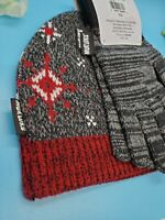 NWT MUK LUKS WOMENS 2-PIECE BEANIE & GLOVE SET ORIGINALLY $30 PERFECT GIFT