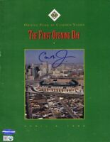 Cal Ripken signed autographed Orioles Camden Yards Opening Day program IRONCLAD