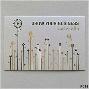 Sustainable Postcards Print Together CS Design Advert Postcard (P511)